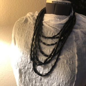 Women necklaces classic black